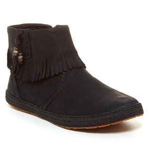 UGG Tiana Genuine Lamb Fur Lined Ankle Boots